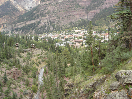 Ouray Surrounded by Majestic Mountains
