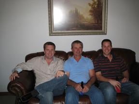 Dad, Scott, and Matt - Xmas07